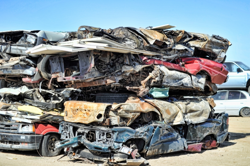 Dave Pearsons Recycling Center Ridgecrest - Scrap Cars